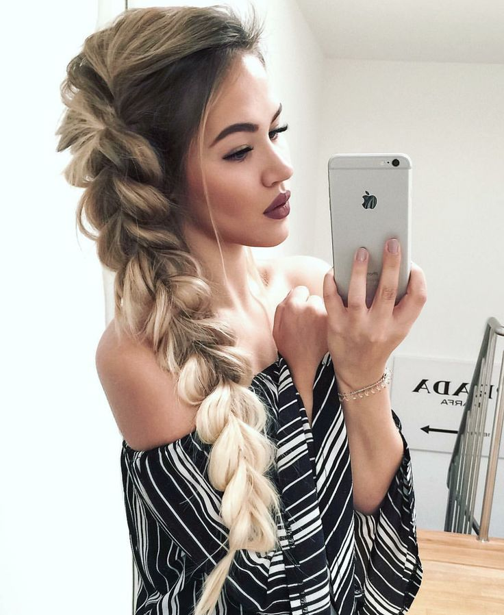Dutch Side braid ! check now amazing hairstyles for New Year Party!