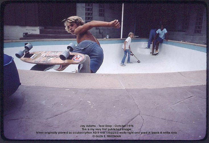 """""""Jay Adams may not have been the world's best skater, but he was the man, the real deal, the original, the first. He is the archetype of our shared heritage."""" Stacy Peralta"""