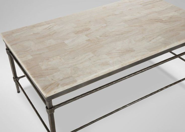 Vida Stone-Top Coffee Table