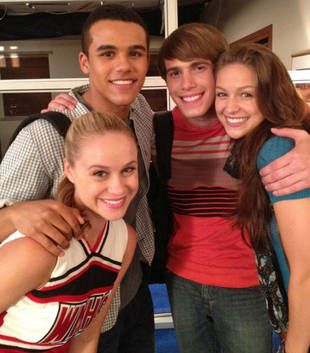 Jake, Kitty, Blake Jenner's Ryder and Marley in Glee Season 4, Episode 6
