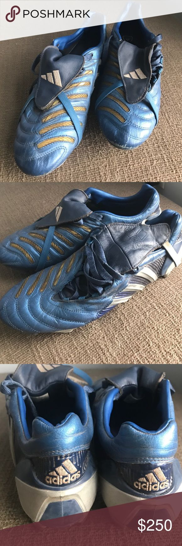 RARE Men's Adidas Predator Pulse Soccer Cleats ✨SPECIAL MARKDOWN✨ Rare limited edition Men's Adidas Predator Pulse Soccer Cleats in Blue. Comes with cleat key! Adidas Shoes Athletic Shoes