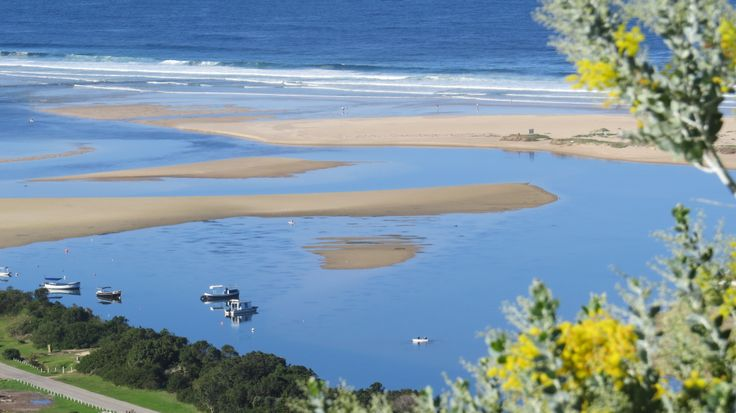 Probably the best view in Plettenberg Bay. Keurbooms Lagoon viewed from La Vista Lodge today!