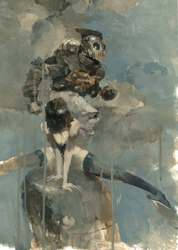 The Rocketeer by Ashley Wood *
