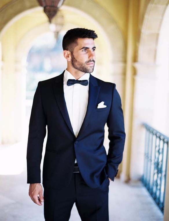 Glamorous Floral Mens Wedding Outfits
