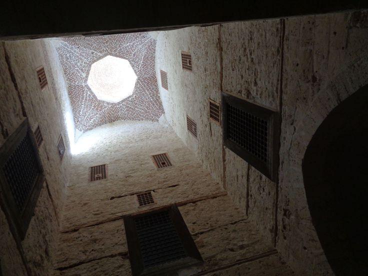 """Im Innern des """"Leuchtturmes""""/der Festung Kait-Bay, Alexandria 2016"""