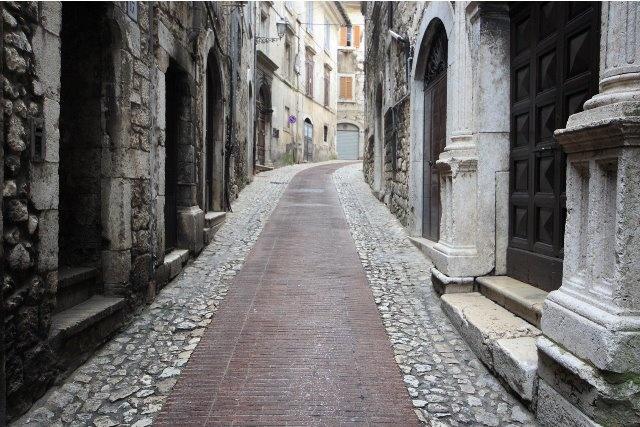 The ancient city of Veroli (FR).