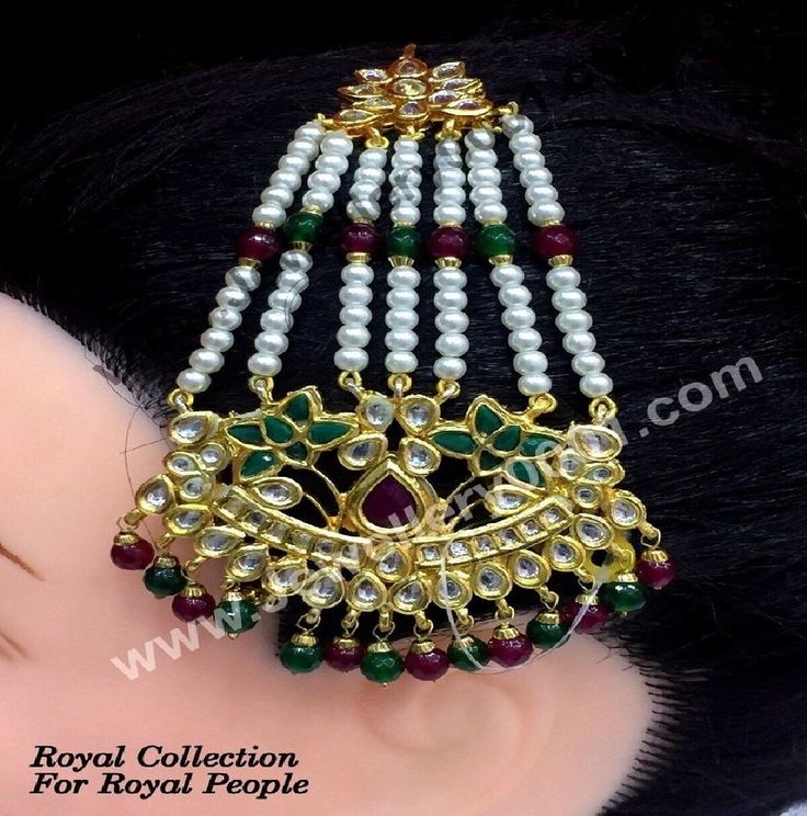 Pasa Jhumar Jewelry is in trends now days. It completes the brides with Pakistani jewelry trends which are now adopted by people all around the globe. Even in Bollywood, actresses wear pasa jhumar jewelry as a side head piece and hair accessories online at Vijay and Sons.