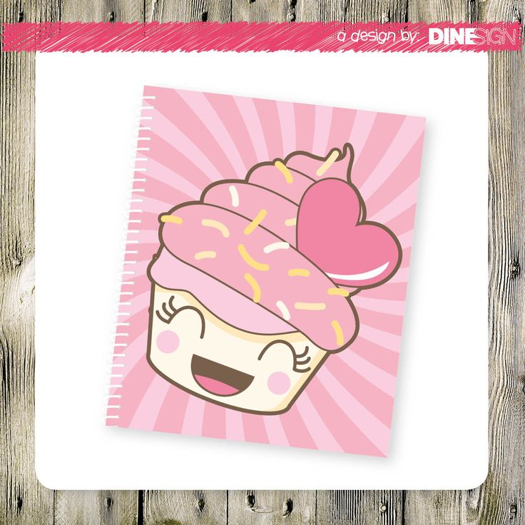 #notebook #sweet #design #dinesign #lollylicious www.lollylicious.nl