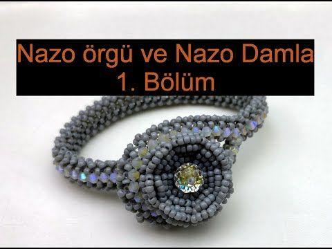 Nazo örgü tekniği ve Nazo damla. Bölüm 1/2 - YouTube