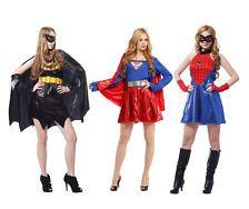 spider woman costume for teen | ... Superhero Fancy Dress Costume Bat Girl Spider Superwoman Superheroes
