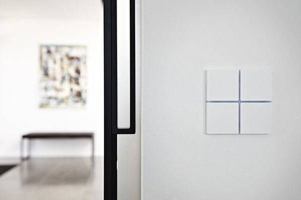 Basalte Presents New Functionalities for Sentido KNX Tactile Switch at Light+Building 2014