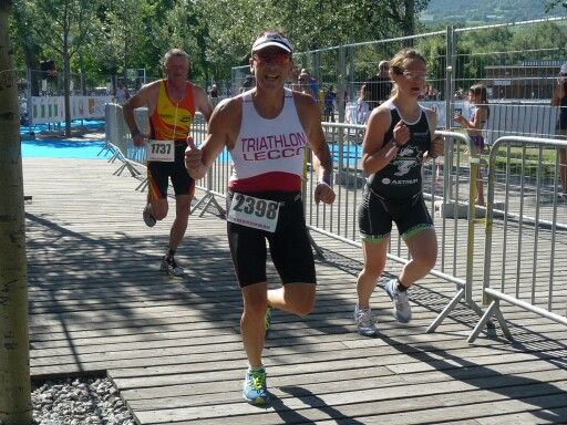 Olimpic distance first day