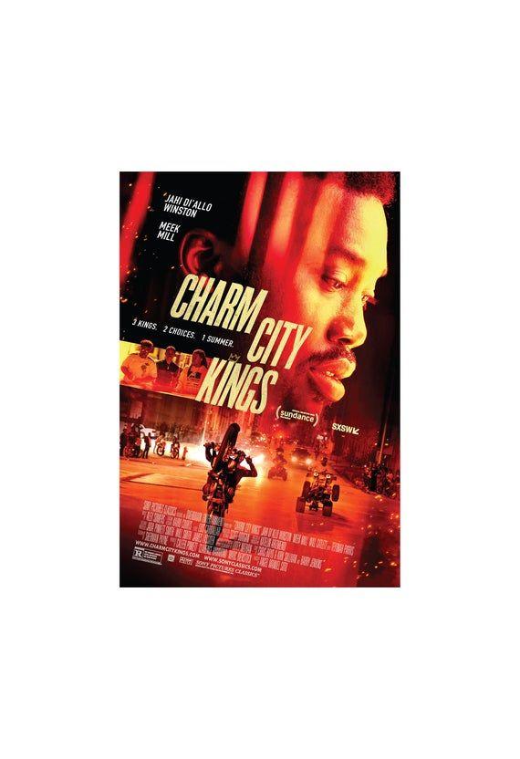 Charm City Kings Movie Poster Quality Glossy Print Photo Art Meek Mill Teyonah Parris Milan Ray Sizes 8x10 11x17 16x20 22x28 24x36 27x40 Kings Movie Full Movies Charmed