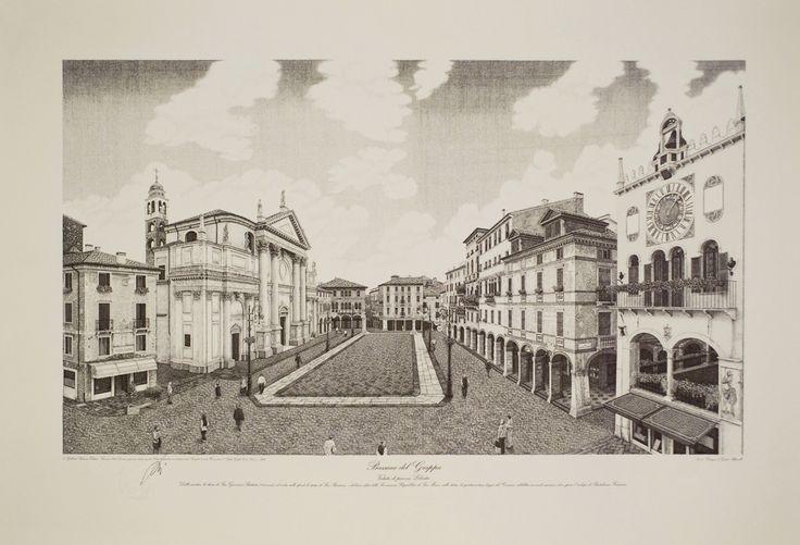 Bassano: veduta di piazza Libertà