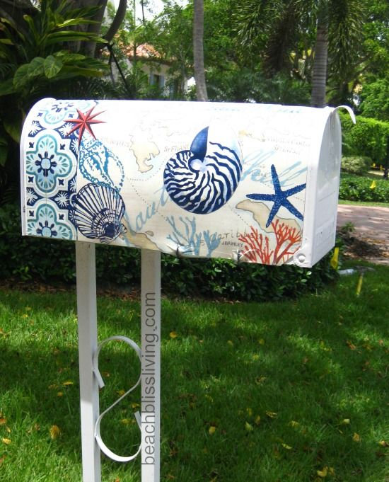 Beach Mail Boxes for Beach Bliss Living: http://beachblissliving.com/beach-mailboxes/