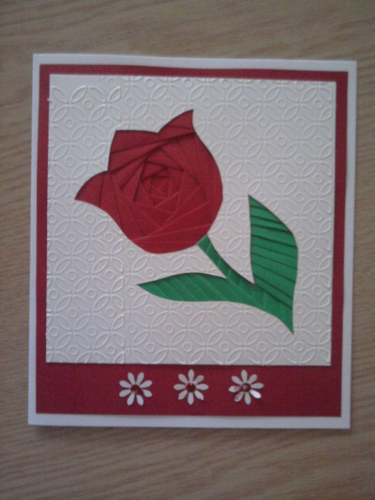 képeslap IRIS technikával