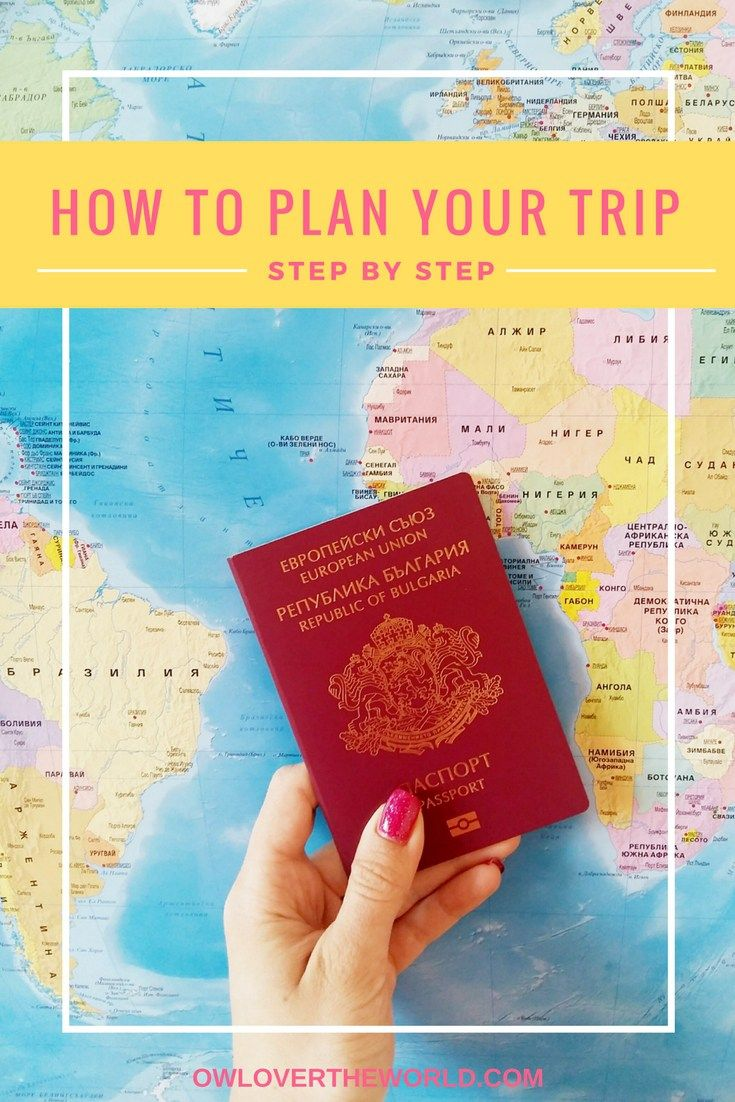 HOW TO PLAN YOUR TRIP STEP BY STEP GUIDE  How to plan a trip / Step by step guide to planing a trip / Travel tips / Travel the world / Trip planning  / Travel guide / Trip guide / Planning guide