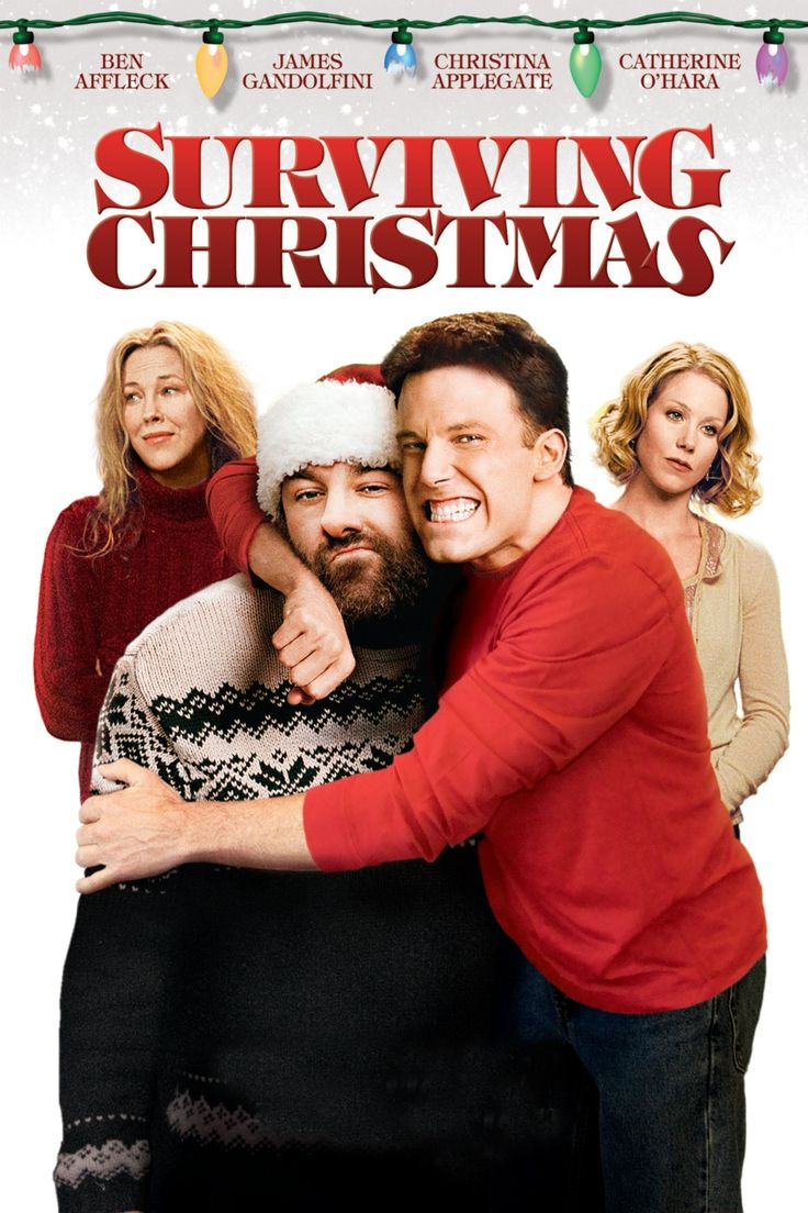 It's a weird, forgotten film but we kinda dig the Ben Affleck/James Gandolfini holiday flick, Surviving Christmas.