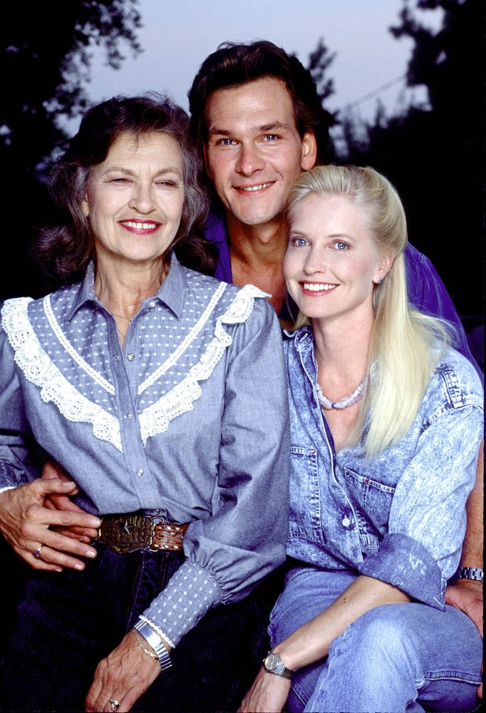 Patsy Swayze, Patrick's mom died 9-16-13 age 86.