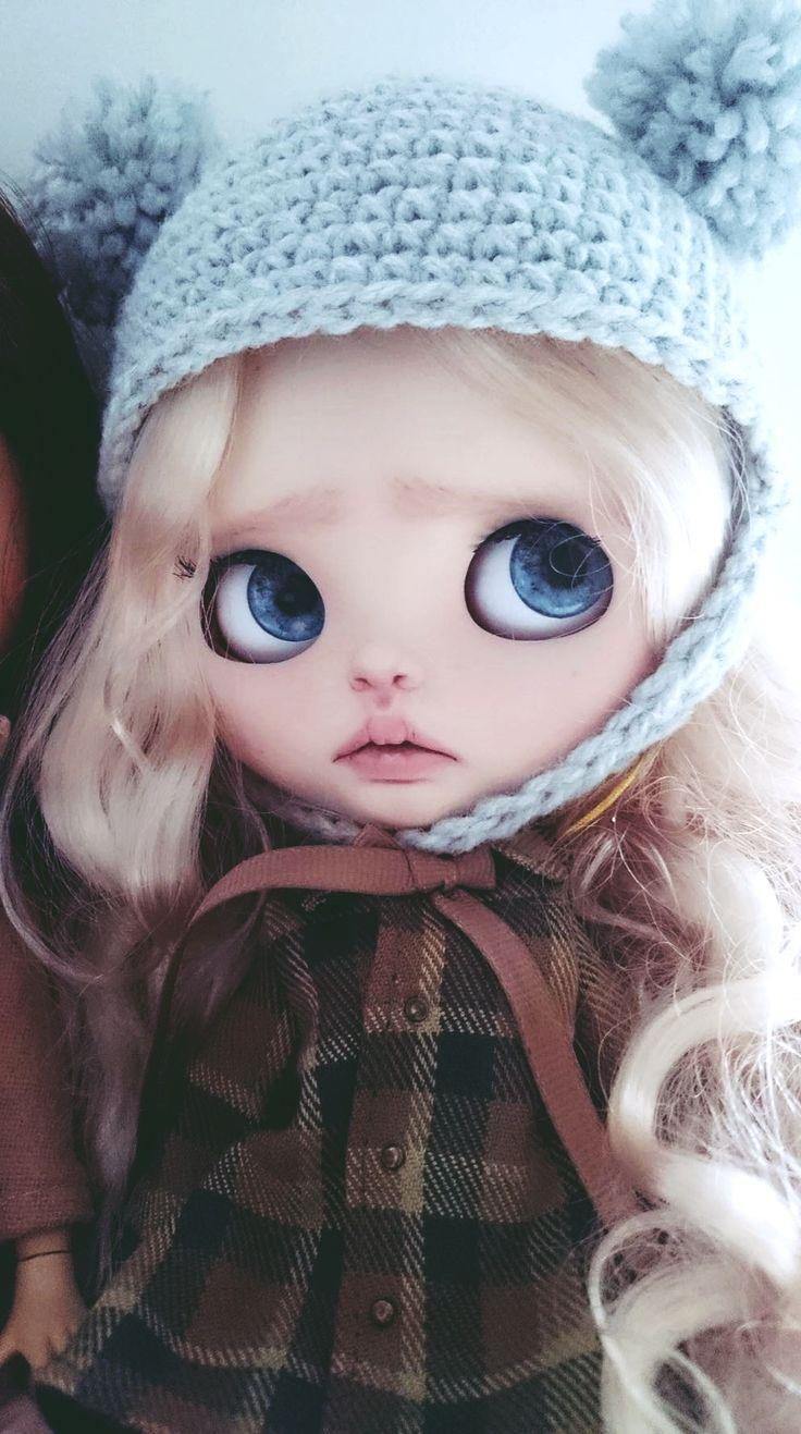 #blythe #doll #custom #customblythe #freya