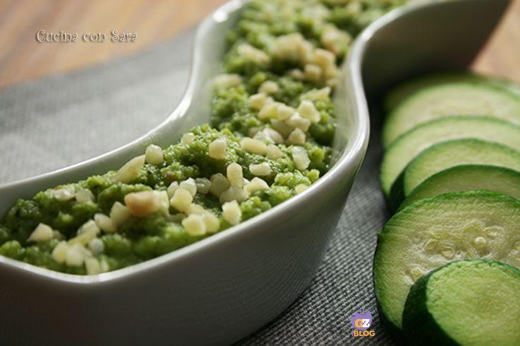 Ricetta pesto di zucchine, cucina con sara