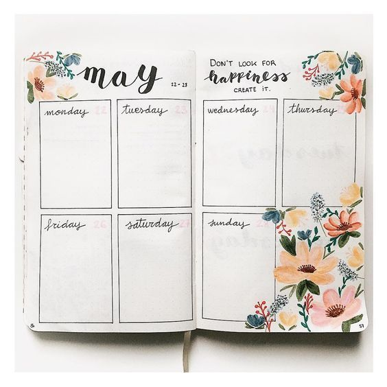 Bullet Journal Weekly Spread – 5 Reasons to use a Weekly Spread