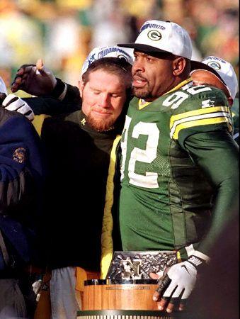 Reggie White & Brett Favre