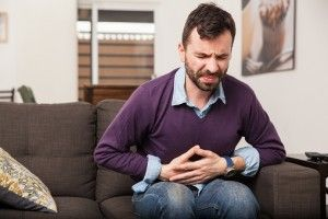Gastritis symptoms can include upper abdominal pain, bloating, and nausea.
