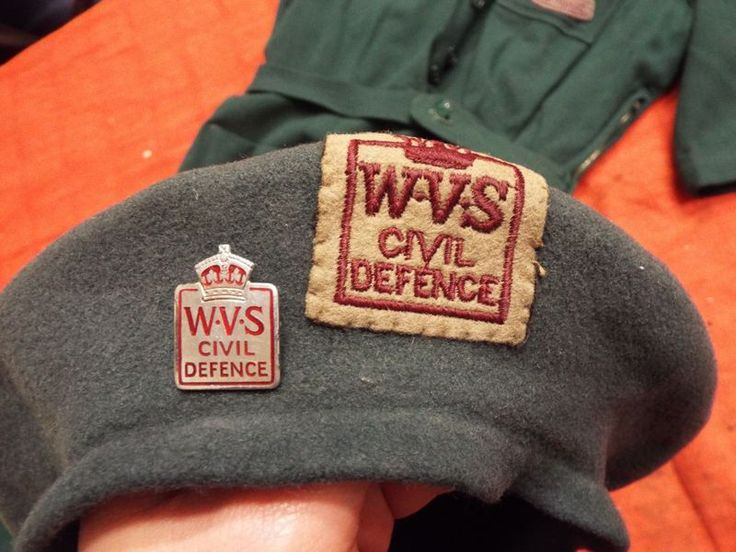 WW2 WOMEN'S W.V.S. FROCK AND BERET | Spandau Militaria Shop