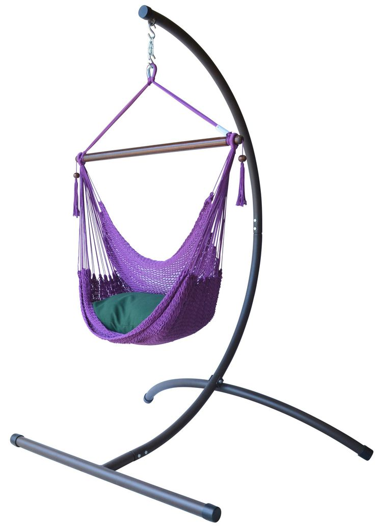 Caribbean Hammock Chair with Stand