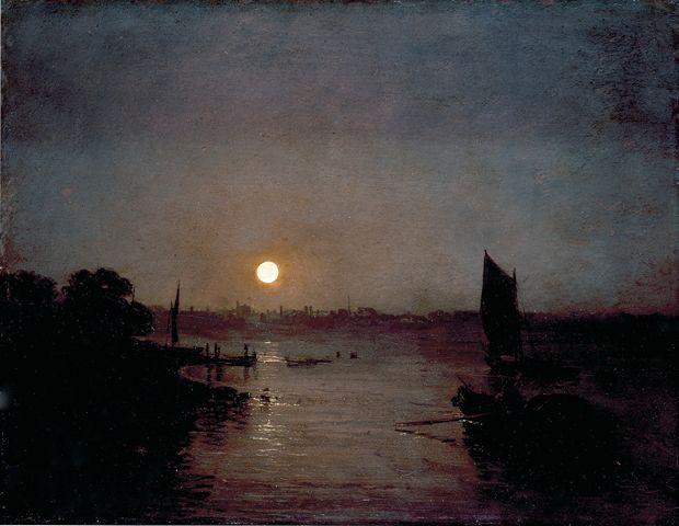 Turner - A lune milbank 1797