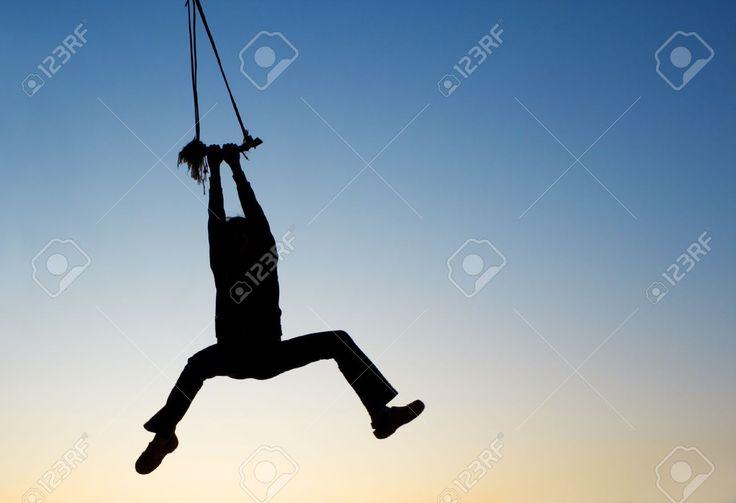 Bildresultat för hanging on rope