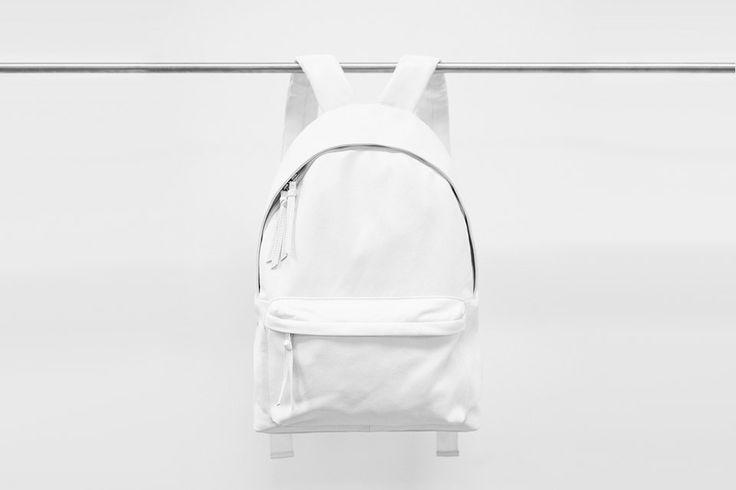 white nike backpack