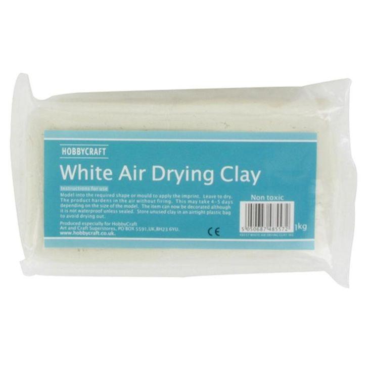 Hobbycraft White Air Drying Clay 1 Kg | Hobbycraft