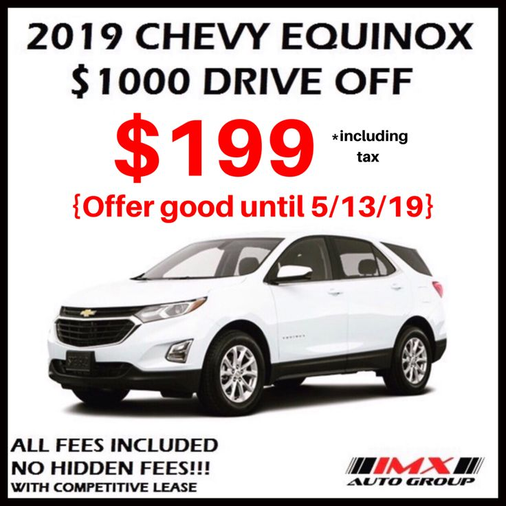 Chevy Lease Carleasing Deals Chevy Equinox Chevy Lease Specials