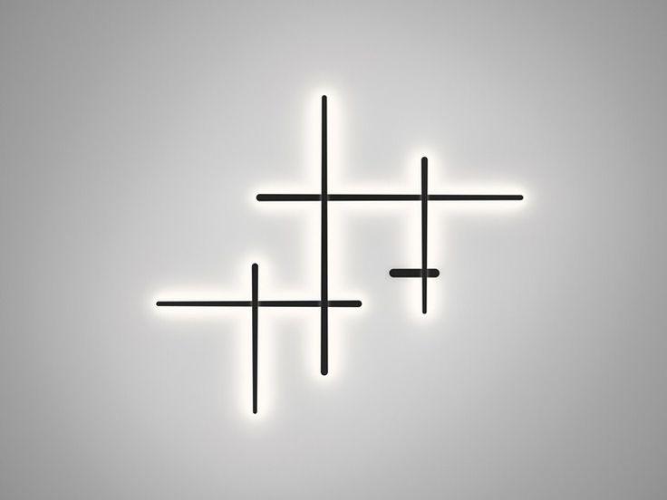 Wandleuchte aus Polycarbonat SPARKS 1700 Kollektion Sparks by Vibia | Design Arik Levy