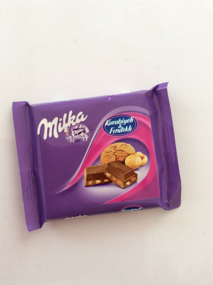 Milka with cookies & hazelnut