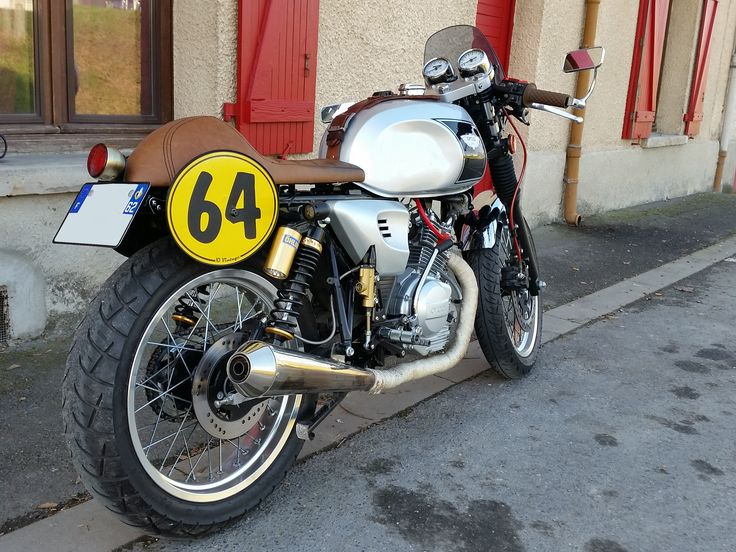 Astor 125 cafe racer