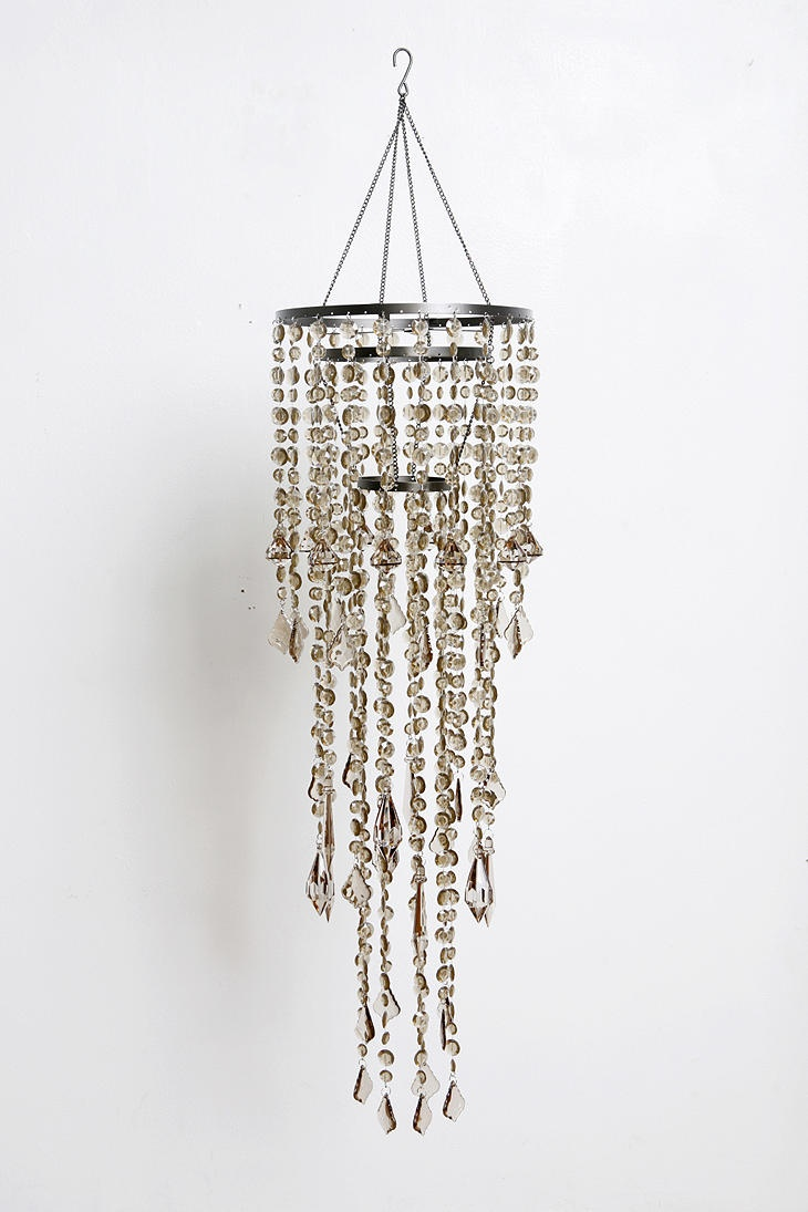 101 best love for chandeliers images on pinterest chandeliers urbanoutfitters com tier cascade faux chandelier stylehive arubaitofo Choice Image