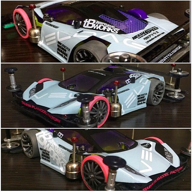 Veldaga inspiring design #TAMIYA #TAMIYA_Indonesia #mini4wd #JKT4WD #tweet_project