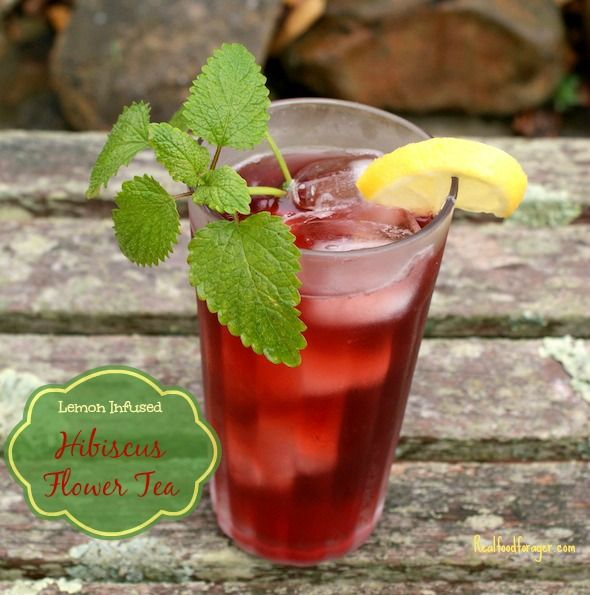 Post image for Recipe: Lemon Infused Hibiscus Flower Tea