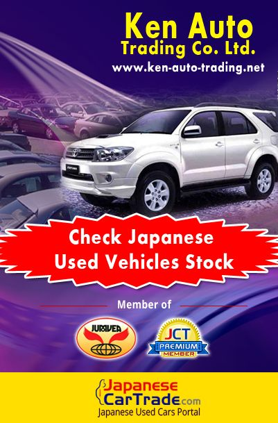 Ken Auto Trading Co. Ltd. - Japanese Used Cars, Trucks & Equipment Exporter  Ken Auto Trading providing High-Quality Japanese Used Vehicles. They provide facilities of purchase the vehicles from 100 Japanese used car auction sites. These auto auction sites are opened from every Monday to Saturday.  #Japancardealer #Carexporter