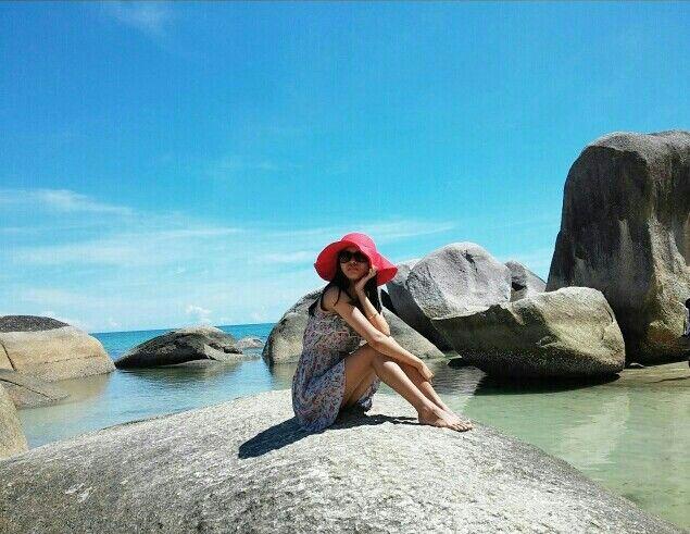 Beach style. Tanjung Tinggi - Belitung - Indonesia