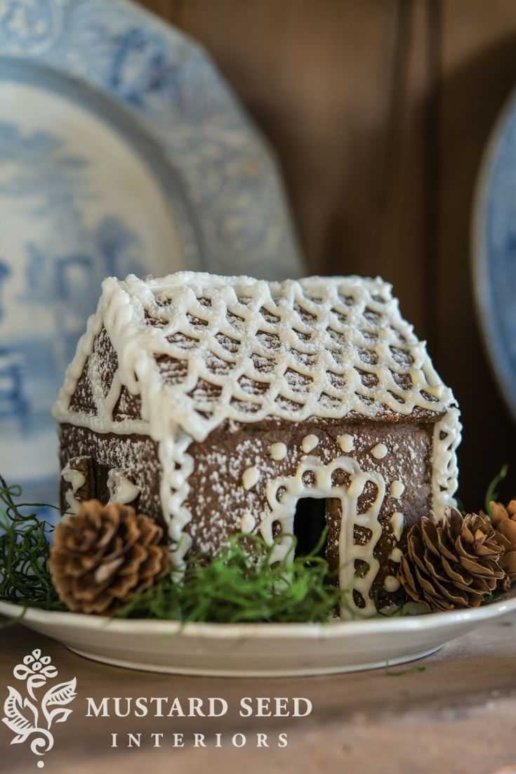 A few years ago, I got it in my head that I had admired gingerbread houses long enough and I was going to make them myself. Not just the graham cracker/milk carton/kit variety, but ones that I made from scratch and decorated with traditional white royal icing. Kriste and I played hooky from working in the studio and we spent ... Read More