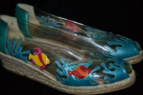 45 best images about margaret jerrold shoes on pinterest for Fish tank shoes