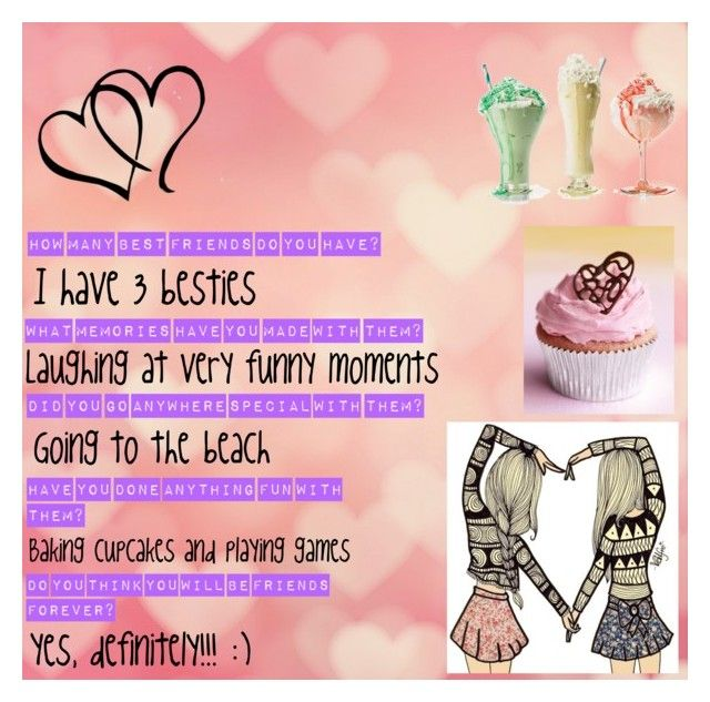 """""""Best Friends Quiz"""" by pavlovafashions ❤ liked on Polyvore featuring art"""