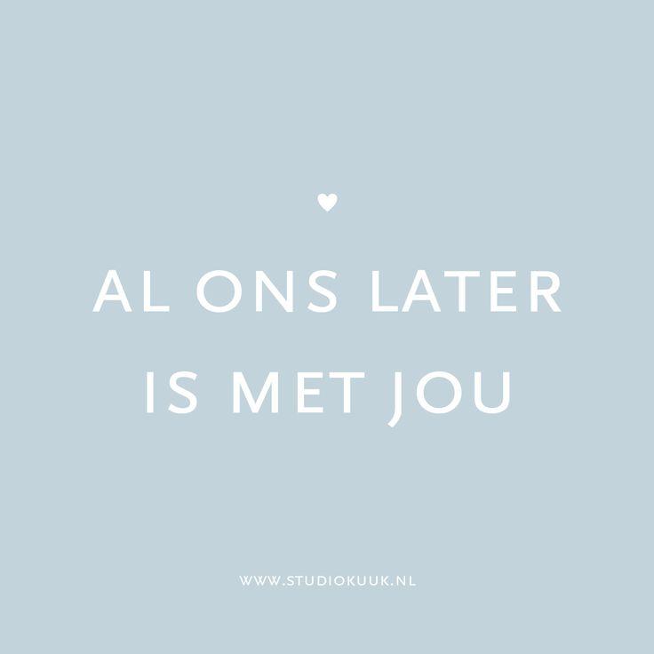 Lief gedichtje #geboortekaartje #studiokuuk.nl