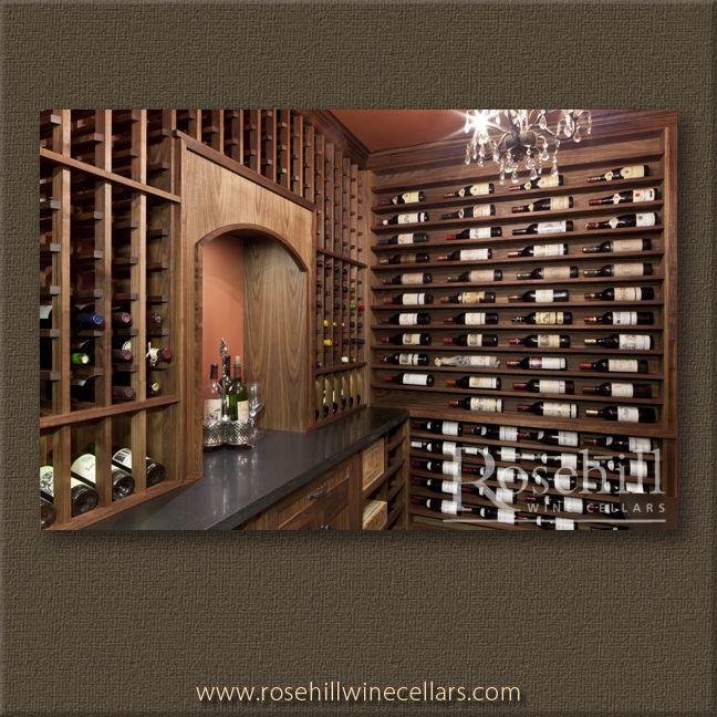 CUSTOM WINE CELLAR GALLERY : Wine Cellar Cooling Units, Wine Fridges & Wine Racks - Rosehill Wine Cellars