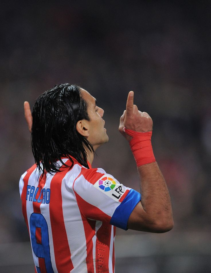 Radamel Falcao Photos - Club Atletico de Madrid v Sevilla FC - La Liga - Zimbio