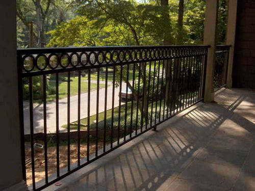 Decorative Porch Fence Iron Railings Picture Some Good Ideas for Homeowners of the Best Deck Railing Designs